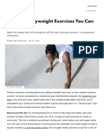 Bodyweight Exercises - No Equipment Workout Moves