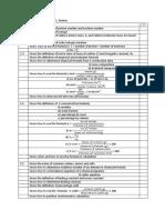 Chemistry Checklist Chapter 1