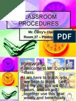 Curry Procedures