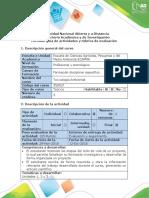 Guía de Actividades y Rúbrica de Evaluación - Etapa 4 - Cierre