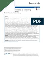 Necrotizing Pneumonia - An Emerging Problem in Children