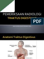 Pemeriksaan Radiologi Tr. Digestivus - Kuliah