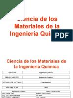 1-Ciencia de Los Materiales de La Ingeniería Química