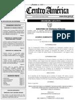 Acuerdo Gubernativo Número 13-2019
