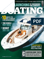 Boating - September 2018 USA