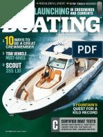Boating - September 2018 USA