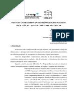 O ESTUDO COMPARATIVO ENTRE METODOLOGIAS DE ENSINO APLICADAS NO CURSINHO ATLAS PRÉ-VESTIBULAR