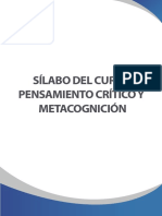 Sílabo_pensamiento Crítico Metacognición