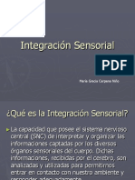 Integra c i on Sensorial