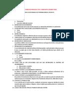 Cuestionario Derecho Procesal Civil y Mercantil Examen Final