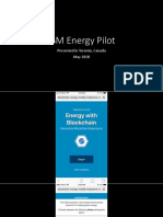 IBM Energy Pilot - May 2018 - Conference Board of Canada