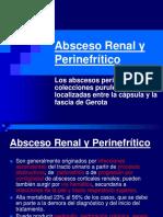 Absceso Renal y Perinefrítico