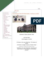 NLS - NLS Messager - New Lacanian School of Psychoanalysis _ Nouvelle École Lacanienne de Psychanalyse
