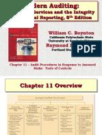 Modern Auditing Ch11