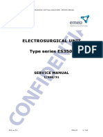 Emed ES350 ESU - Service Manual