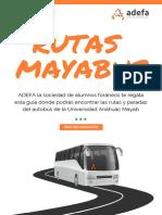 Rutas Mayabus [2]