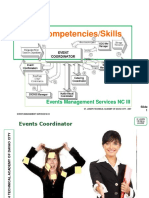 Events Management - Basic & Common Competencies