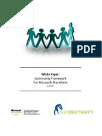 ND Community Framework for MOSS 2007