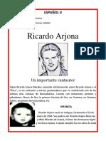 Biografia de Ricardo Arjona
