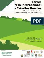 Primer Llamado Congreso Estudios Rurales 2019