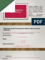 1.3 Progresión Aritmética (2)