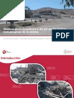 Analisis Granulometrico y de PH en Las Pulpas Metalurgicas de La Planta