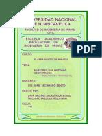 Informe Mensual de Operaciones