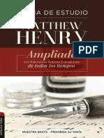 Biblia Matthew Henry Muestra Gratis