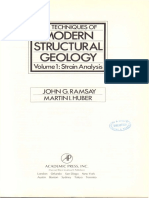 Techniques (the) of Modern Structural Geology VOL.1 Strain Analysis