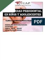 Enfermedades Periodontales en Niños y Adolecentes