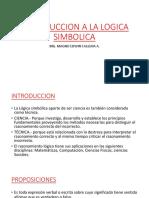 011 Introduccion a La Logica Simbolica