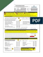 SMO Blank Checklist