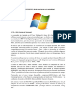 El Sistema Operativo WINDOWS