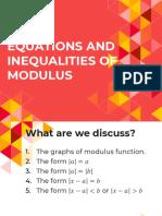 3. Modulus Function