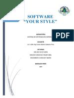 Sofware empresarial