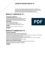produccion de television