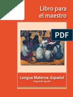 Libro Maestro Esp 2 grado