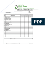 Form Checklist Mesin Las