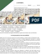 Historieta_Actividad_Grado Sexto