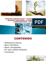 Aspectos Conceptuales Sobre Medicina Tayc - Dra. Martha Villar 23 de Agosto