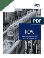 National Common Mobility Card NCMC RuPay QSPARC Dual Interface Card NPCI