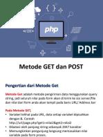 Metode Get Dan Post