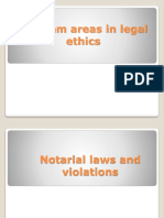 Notarial Laws and Violation