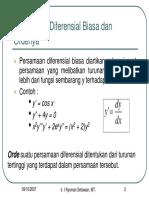 Persamaan Diferensial1