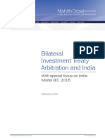Bilateral Investment Treaty Arbitration and India-PRINT-2