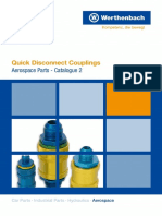 Aerospace Parts 2 Quick Disconnect Couplings