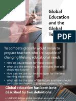 Global Education and the Global Teacher