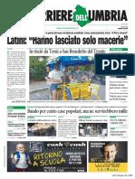 Rassegna stampa dell'Umbria 6  settembre 2019 UjTV News24 LIVE