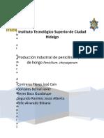 produccion de Penicilina (Ingeniería de Procesos)
