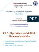 CH5.Operations on Multiple Random Variables